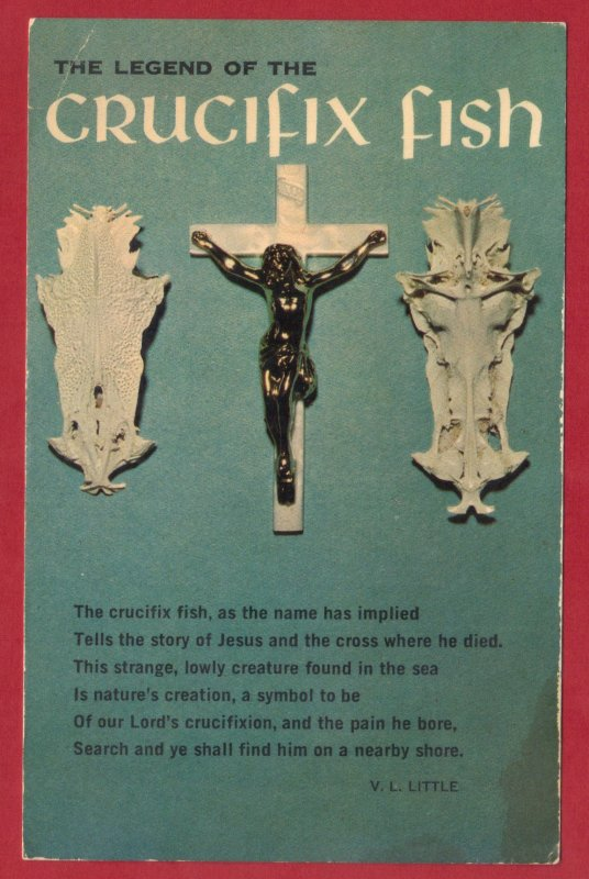 THE LEGEND OF THE CRUCIFIX FISH   SEE SCAN