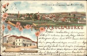 Pozdrav z Krugemburku Published in Pardubice c1900 Postcard