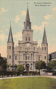 NEW ORLEANS, Louisiana, 1900-1910´s; St. Louis Cathedral