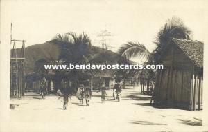 madagascar, AMBILOBÉ, Street Scene (1930s) RPPC