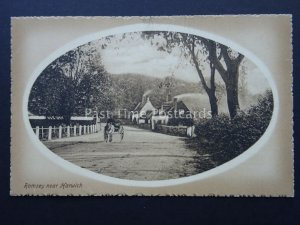 Essex RAMSEY near HARWICH c1908 Postcard by Valentine