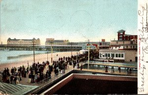 New Jersey Atlantic City Young's Pier 1905