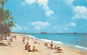 USA Pompano Beach Florida Plage