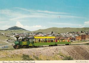 CRIPPLE CREEK , Colorado , 50-70s ; Miniature Train