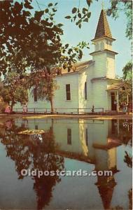 Knott's Berry Farm, Ghost Town, California, CA, USA Postcard The Church ...