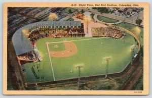 Columbus OH~Cooper AKA Red Bird Baseball Stadium~Night Game~Razed 2014~1937