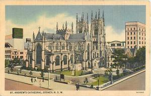 St. Andrew's Cathedral Sydney N.S.W. Australia Linen