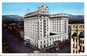 Utah Salt Lake City Hotel Utah 1942