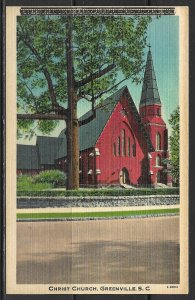 South Carolina, Greenville - Christ Church - [SC-039]
