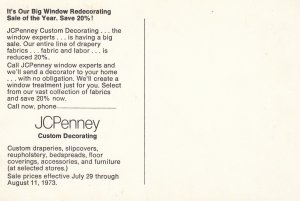 JCPENNEY Window Redecorating Sale of the Year. , 1973