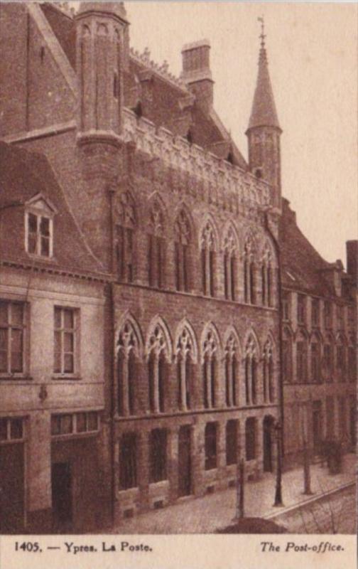 Belgium Ypres La Poste The Post Office