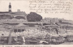 Bathing, Places, & Marine Biological Institution, Plymouth (Devon), England, UK,