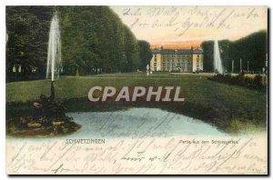 Postcard Old Party aus dem Schlossgarten Schwetzingen