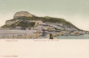 Gibraltar Panorama From The Old Mole