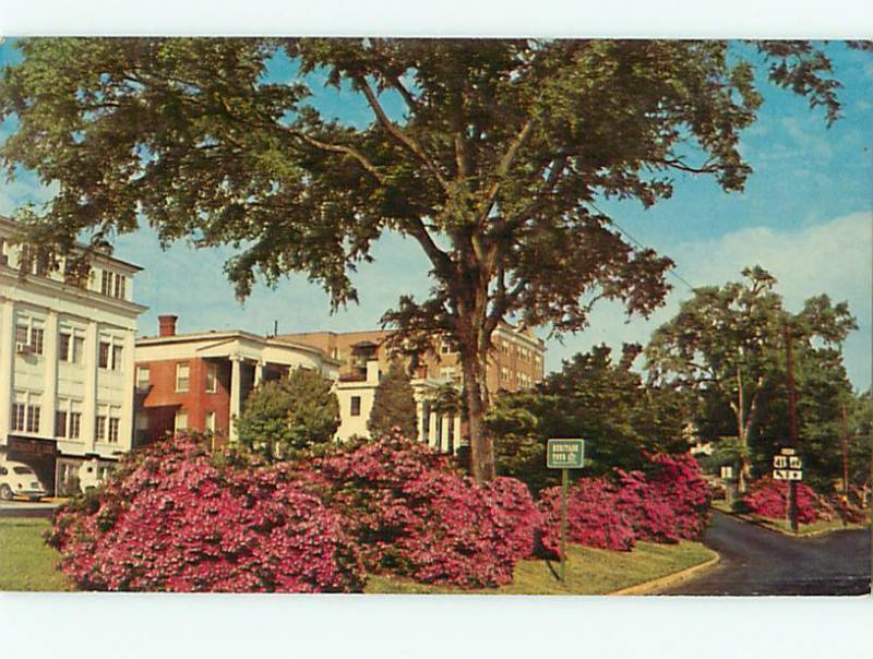 Vintage Post Card Old Cannon Ball House Macon Museum Mulberry St Macon GA # 4834