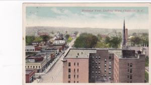 CHARLOTTE, North Carolina ,PU-1918 ; Birdseye View, Looking West