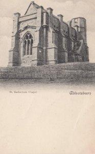 ABBOTSBURY , Dorset , England , 1905 ; St. Katherines Chapel