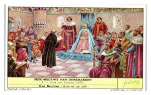 Union of Kalmar, History of Denmark Liebig Belgian Trade Card *VT28D
