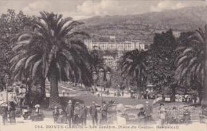 Monaco Monte Carlo Les Jardins Place du Casino Beausoleil