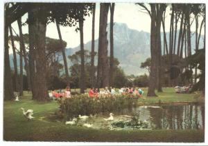 South Africa, Le Pique-Nique at Boschendal, Wine Estate, used Postcard