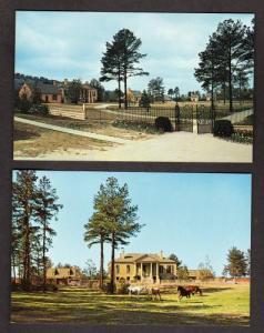 GA Lot 2 Stone MT Mountain Plantation GEORGIA Postcards
