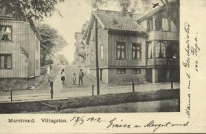 sweden, MARSTRAND, Villagatan (1912) Stamp