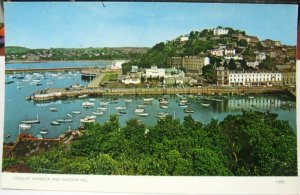 England Torquay Harbour and Waldon Hill RPPC - unposted