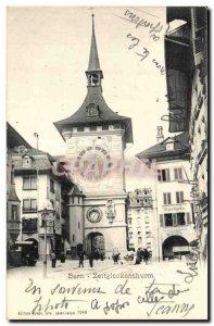 Switzerland Old Postcard Bern Zeitglockenthurm