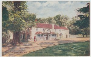 Hampshire; The Cowherds Avenue, Old Fashioned Inn PPC By Tuck, No 1653, Unused