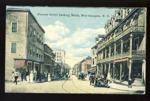 New Glasgow, Nova Scotia/NS, Canada Postcard, Provost Street
