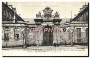 Old Postcard Arras Palace Gate St Vaast