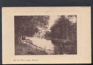 Northern Ireland Postcard - On The River Lagan, Belfast   HM407