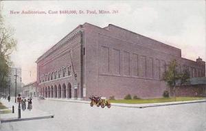 Minnesota Saint Paul New Auditorium Cost 450000 1912
