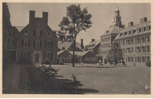NEW HAVEN , CT , 1930s ; YALE ; Pierson College Court