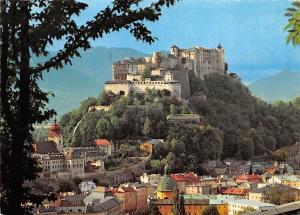 Salzburg Fort Hohensalzburg Feste Panorama