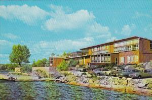 Exterior,  The Delawana Inn,  Honey Harbour,  Ontario,   Canada,  40-60s