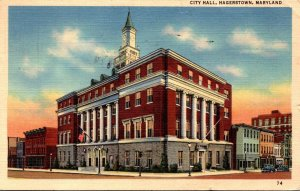 Maryland Hagerstown City Hall 1958