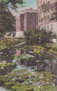 Kentucky Richmond Lily Pool Eastern Kentucky State Teachers College Handcolor...