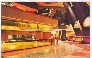Interior, Hotel Regence Hyatt Montreal, Quebec, Canada, PU-1978