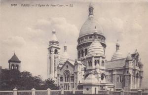 L´Eglise Du Sacre-Cour, Paris, France, 1900-1910s
