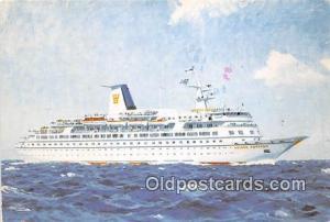 MS Golden Odyssey Royal Cruise Line Ship Postcard Post Card Royal Cruise Line...