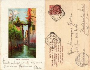 CPA Venezia Canale Albrizzi. ITALY (449300)