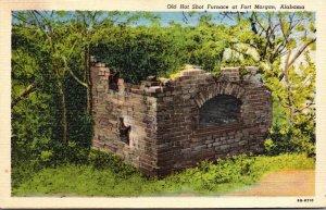 Alabama Fort Morgan Old Hot Shot Furnace Curteich