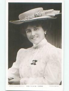 rppc c1910 Ellaline Terriss FAMOUS BRITISH STAGE ACTRESS FROM ENGLAND UK AC8651