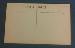 Vintage  Postcard Halford Street Thrapston H1D