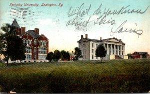 Kentucky Lexington Kentucky University 1909