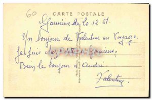 Old Postcard Chantilly Oise The Chateau Facade North East