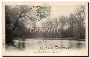 Paris Old Postcard Bois de Boulogne Lake