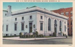 U S Post Office And Federal Building Gainesville Georgia