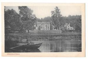 Scotland Abbotsford House Galashiels Melrose GWW Postcard